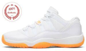 (W) Jordan 11 Retro Low Bright Citrus AH7860-139 concord bred iridescent
