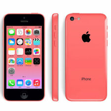 Unlocked Apple iPhone 5c - 32GB - Pink 4G LTE GSM World Smartphone