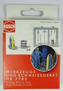 BNIB OO / HO BUSCH 7785 WELDING TORCH & TOOLS SET FOR GARAGE OR DEPOT