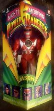 1993 Bandai Mighty Morphin Power Rangers Red Ranger Jason In Box Vintage
