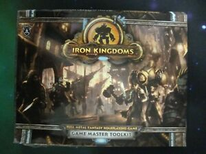 Iron Kingdoms-Full Metal Fantasy RPG-Game Master Toolkit