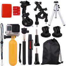Accessories Pack Bike Rollbar Mount+Monopod Pole+Suction for GoPro Hero 2/3/3+/4