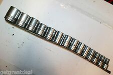"""SNAP-ON TOOLS 1/2"""" DRIVE 6-POINT CHROME SHALLOW SOCKET SET 14- PIECES"""