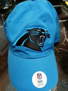 Carolina Panthers NFL Ball Cap Hat~Glacier BLUE~Adjustable strap-NWT
