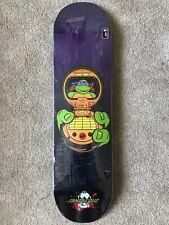 "Santa Cruz Skateboard Deck Teenage Mutant Ninja Turtles Donatello 8.125"""