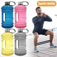 2.2L Large Capacity Water Bottle BPA Free Handgrip Kettle Gym Fitness Outdoor