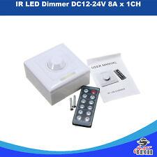 IR LED DIMMER DC12-24V 8A X 1 CH