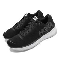 Hoka One One Cavu Black White Mens Cushion Running Shoes 1019281-BWHT