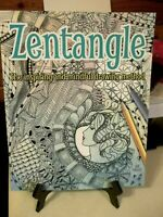 Zentangle, the Inspiring and Mindful Drawing Method by Jane Marbaix (2014,...