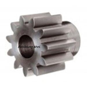 Stirnrad-Zahnrad Stahl C45 Modul 1.0, 12-70 Zähne  1 Stück - Qualität 8-9
