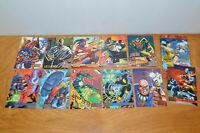 VINTAGE DC VERSUS MARVEL TRADING CARDS LOT FLEER / SKYBOX 1995