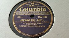 PATERSON'S DANCE ORCHESTRA EIGHTSOME REEL COLUMBIA DX555