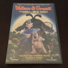New ListingWallace and Gromit The Curse of the Were-Rabbit 2005 New Full Frame Dvd