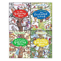 Enid Blyton Collection New The Magic Faraway 4Books Age9-12 Paperback English