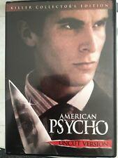 American Psycho (Dvd, 2000, Uncut, Killer Collectors Edition) - F1230