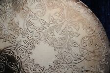 VINTAGE SILVER PLATED PLATE MATS  SET OF 4
