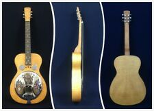 Dobro Hound Dog Deluxe Square Neck w/Fishman Resonator Pickup-Cosmetic Blemished