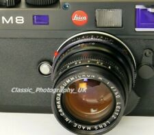 LEICA Summicron-M 1:2/50mm SHARP Prime Lens Made by LEITZ Canada in 1978