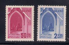 Thailand 1960 Sc # 339-40 Mlh Og (49962)