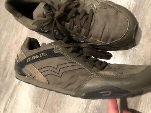 Diesel Solar Men's Size 12 Green Shoes (RN 93243) (Eagle Loop)