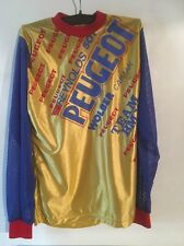 New Peugeot BMX  Team Vintage Old School Race Top Size 34in Chest