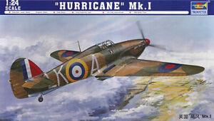 Trumpeter 02414 - 1:24 Hurricane Mk. I - Neu