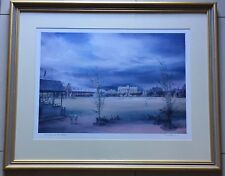 Kenneth Jack(1924~2006)~Well Listed Aussie Artist~SIGNED~Cricket on the main~80s