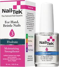 Nail Tek Hydrate 3 Moisturizing Nail Strengthener  (2 - .5oz. bottles)