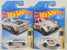 Hot Wheels King Kuda Volkswagen Beetle 50th Checkmate Pawn King Diecast Lot x2