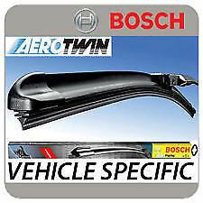 Seat Exeo Bosch Aerotwin windscreen wiper blades front pair original quality