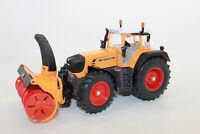 Siku 3660 Traktor mit Schneefräse Fendt 930   1:32 NEU in OVP
