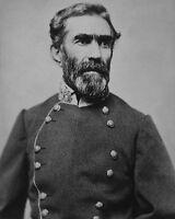 US Confederate Army General BRAXTON BRAGG Glossy 8x10 Photo Civil War Print