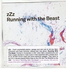 (BK731) ZZZ, Running With The Beast - DJ CD