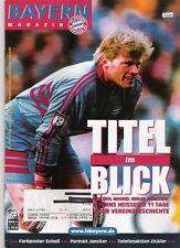 Bayern Magazin 16/51 , Bayern München - Hansa Rostock , 29.04.2000