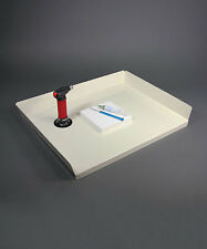 Very Large Metal Soldering Station Tray For Your Bench Or Table