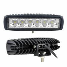 FARETTO BARRA LED PER AUTO 18 Watt 6 LED 12V Luce Fredda 6000°K 60° FARO JEEP