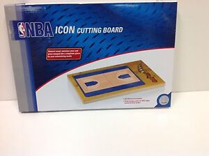 Charlotte Bobcats Collectable - Icon Cutting Board/Tray and Knife Set,