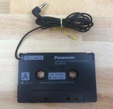 Panasonic SH-CDM10B Stereo Car Cassette Adaptor 3.5mm Plug