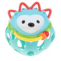 Baby Multi-Sensory Rattle Hand Bell Baby Infant Teething Toy - Hedgehog