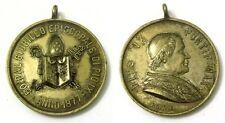 Medaglia Pius IX Potif. Max. 50° Dal Giubileo Episcopale Di Pio IX Anno 1877
