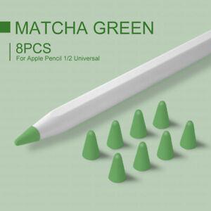8pcs for Apple Pencil Pen Tip Protection Cap Case for Ipad 1 2 Pen Tip Accessory