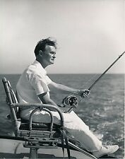 Pêche c. 1950 - Bateau Pêcheur Gros Moulinet USA - GF 379