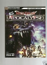 PC Game Bks.: Mage Knight™ : Apocalypse by BradyGames Staff (2006, Paperback)