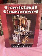 Cocktail Carousel 6 Bottle Dispenser #3H