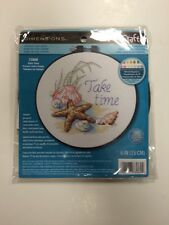 Dimensions Needlecrafts Counted Cross Stitch, Take Time, New arts crafts kits