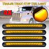 4Pc 15LED Trailer Truck Caravan UTE Stop Brake Tail Reverse Light Ultra-Slim AU