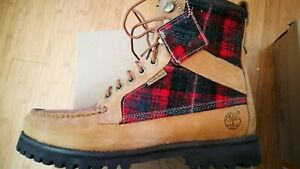 "Mens Timberland Newmarket 8"" Lace Up Warm Ankle Boots US 10 43582"