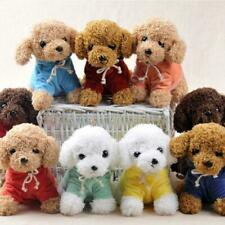 Realistic Teddy Dog Lucky Puppy Cute Soft Cotton Toy Children Christmas Gift x1