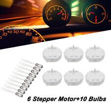 6pcs axes Pas à Pas Moteur + 10 bulbsspeedometer Jauge Kit Cluster pour X27.168 GM GMC
