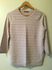 Viscose Crewneck Hand-wash Only Striped Jumpers & Cardigans for Women
